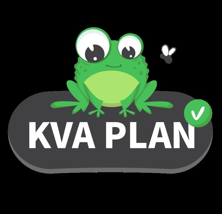 Logotype of the KVA Plan.